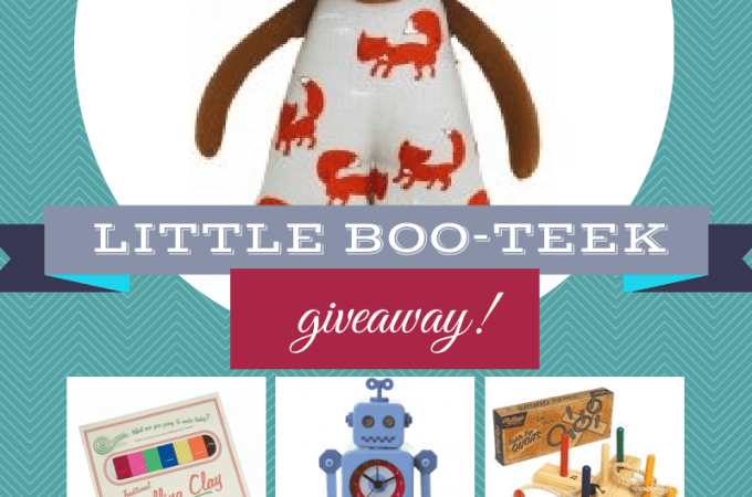 GIVEAWAY: 4 x $100 vouchers to spend at Little Boo-Teek! {ended}