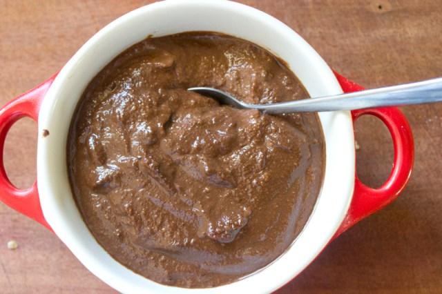 snacks kidfood banana choc pudding