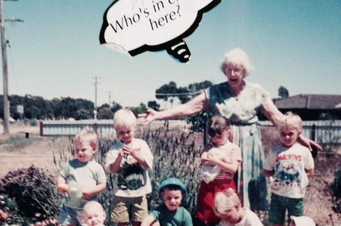 Aw Grandma, you so crazy!