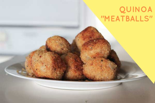 Quinoa Meatballs // The Veggie Mama