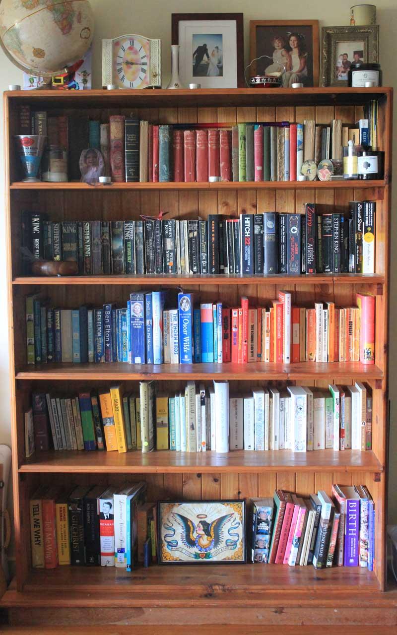 The Dusty Bookshelf Challenge Veggie Mama
