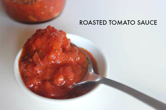 Simple Roasted Tomato Sauce with Canned Tomatoes