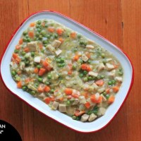 "Vegetarian ""Chicken"" Pot Pie"