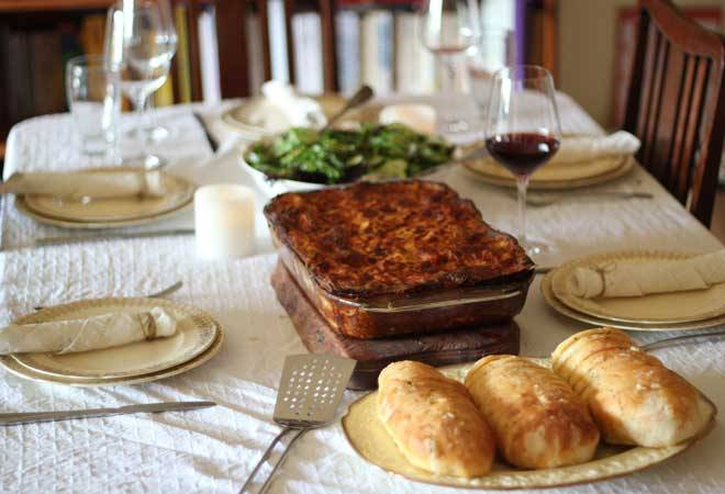The best vegetarian lasagne. For real.