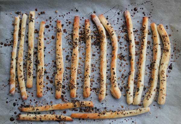 Honey-Dukkah Breadsticks