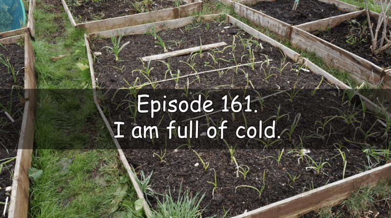 A short episode due to being full of cold.