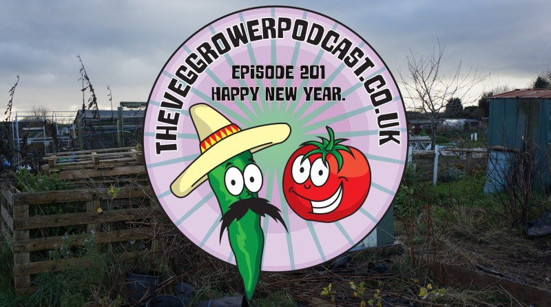 Join me in this weeks veg growing podcast where I welcome in the new year by looking over my notes for the last year.