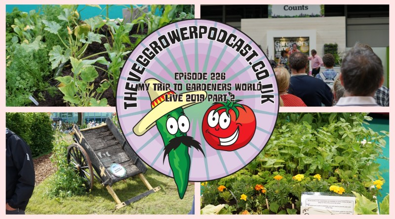 Join me in another episode where I continue my trip around gardeners world live 2019. I also share the latest on the plots