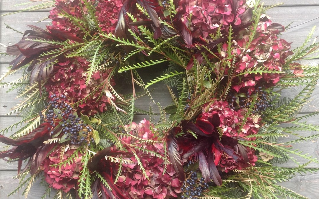 Christmas Wreath Making Workshops 2018 London