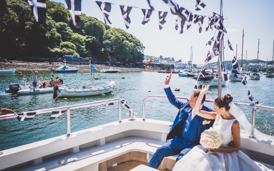 Cornwall Wedding Flowers: Summer Seaside Wedding