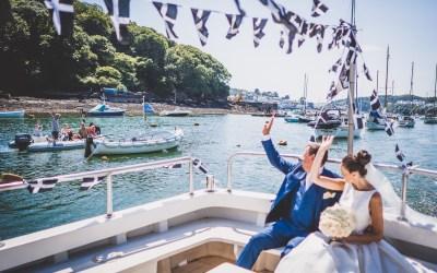 Cornwall Wedding Flowers: Summer Seaside Wedding