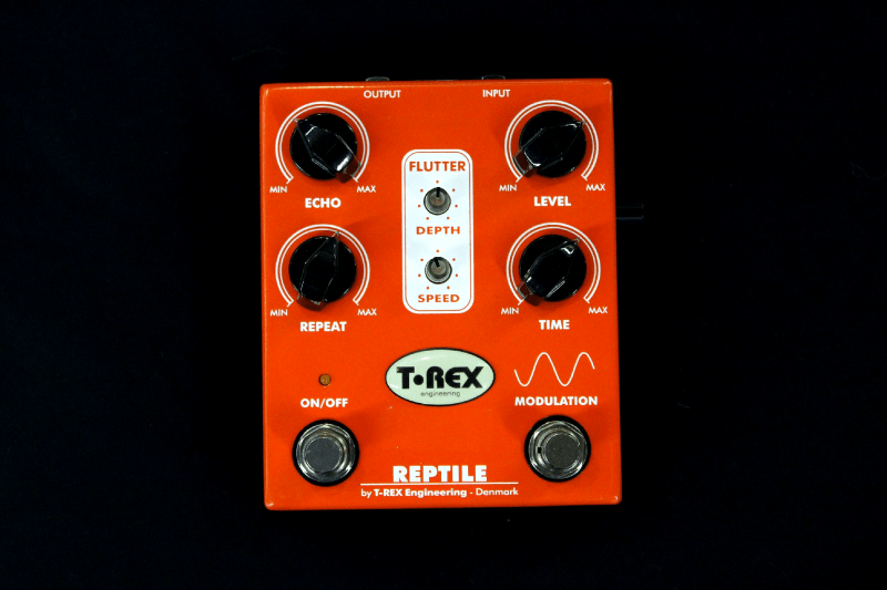 pédale orange Trex REPTILE