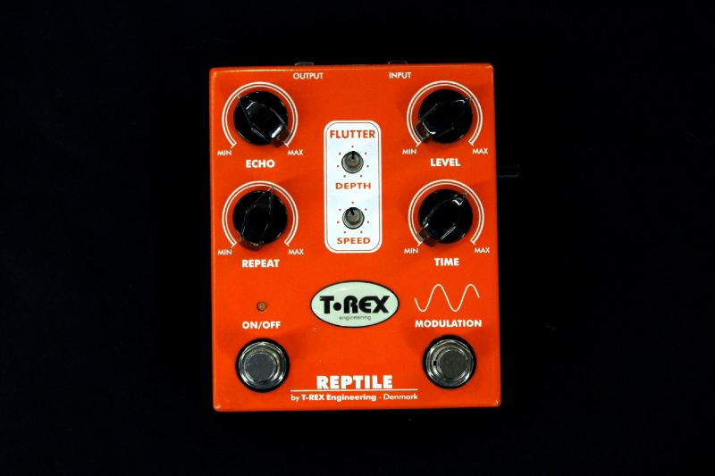pédale orange Trex REPTILE