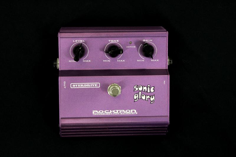 pédale overdrive violette ROCKSONIC