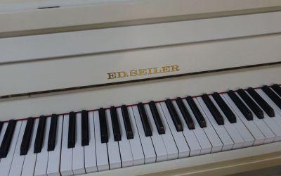 Piano SEILER blanc mat