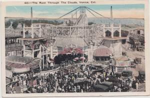 Rollercoaster on Venice Pier copy