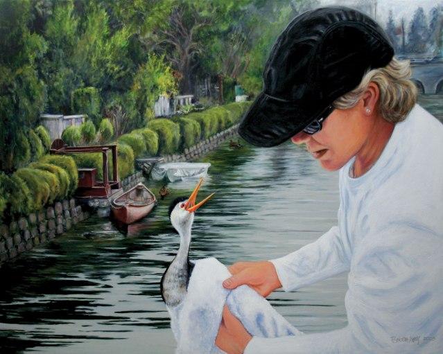 painting of Francine Danieri