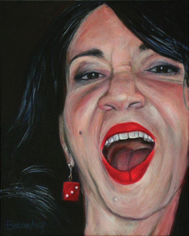 painting of Suzy Williams