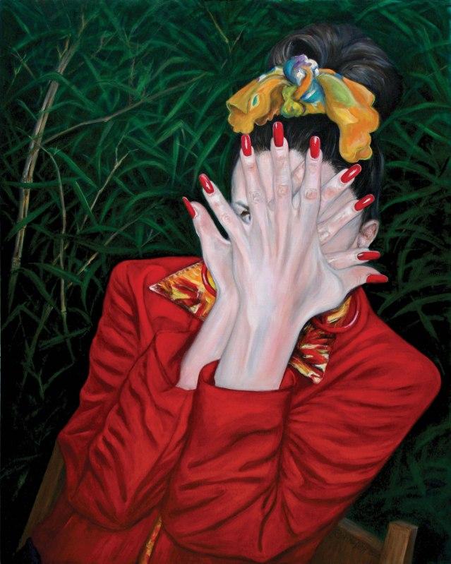 painting of Vance Arquilla