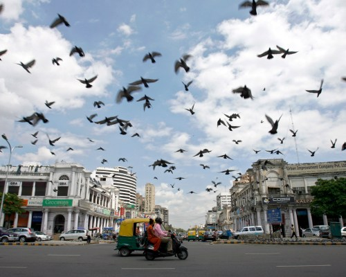 Connaught Place by Arunima