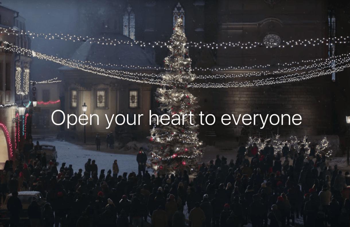 פתחו את הלב לכולם; אפל