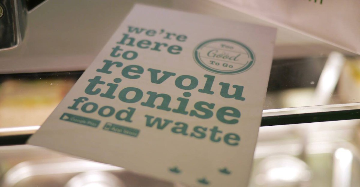 Food Waste App 'Too Good To Go' Launches in Brighton