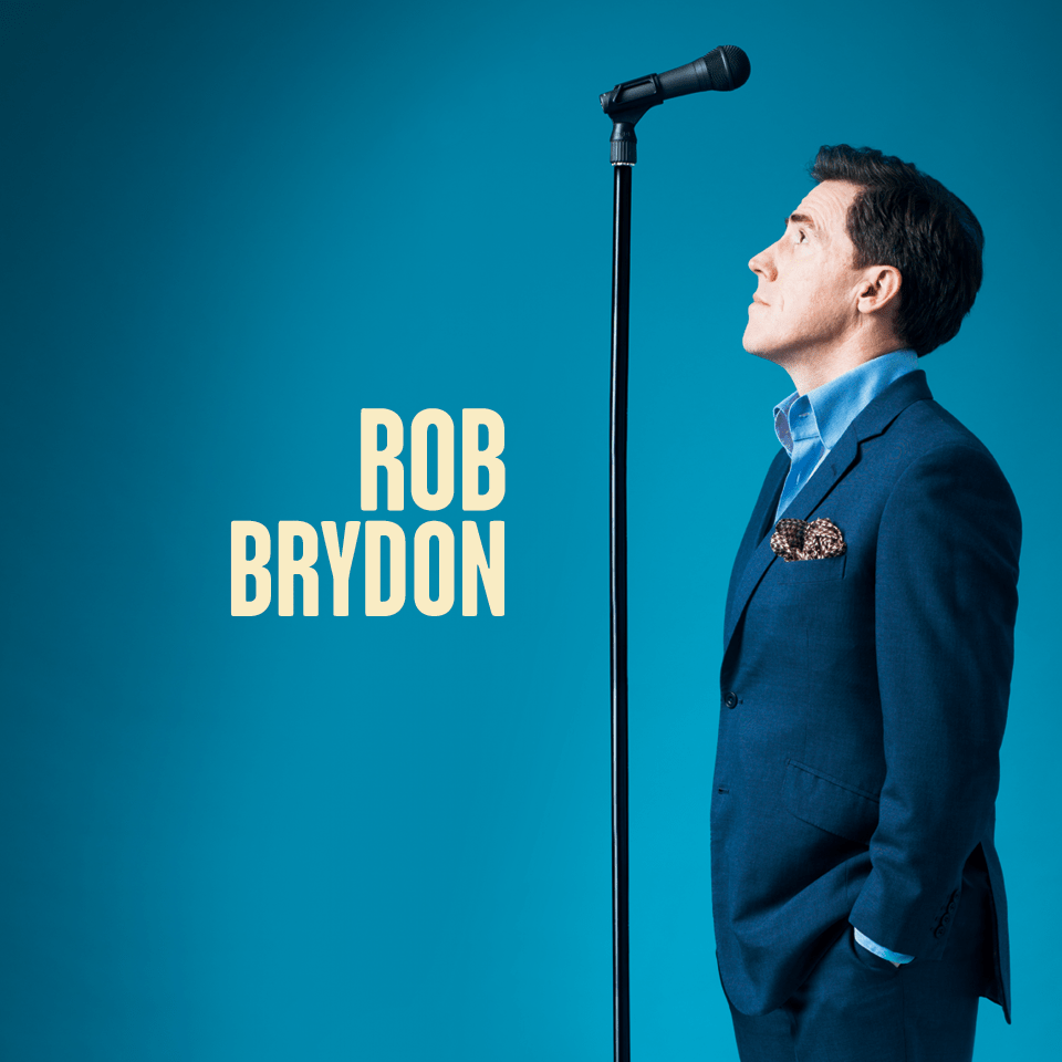 REVIEW: Rob Brydon @ Brighton Dome, 17/03/2018