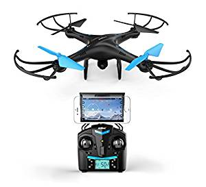 Force1 U45W Blue Jay Wi-Fi FPV Quad-copter Drone with HD Camera
