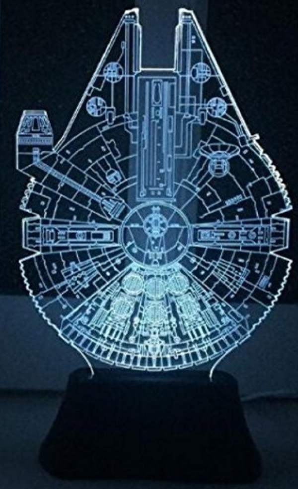 Millennium Falcon 3D LED Night Light