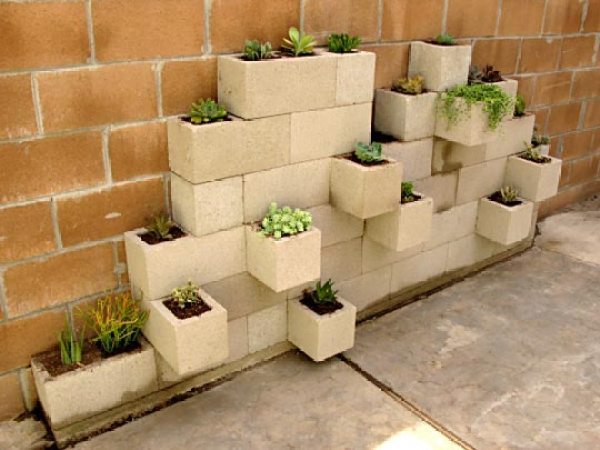 Ten Amazing Ways to Make Your Own Cinder Block Planters