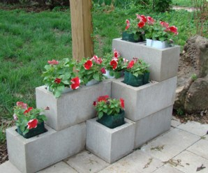 Top 10 Amazing and Unusual Cinder Block Planters