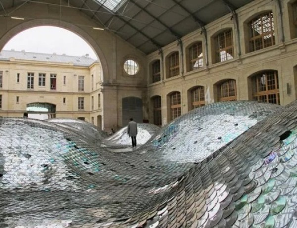 Art made with CD's