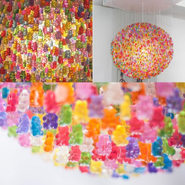 Ten Amazing Chandeliers Made From Recycled Things