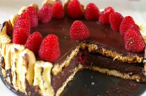 Chocolate Raspberry Charlotte