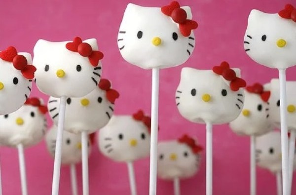 Hello Kitty Cake Pops Recipe