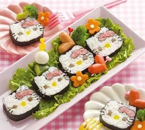 Hello Kitty Futomaki Sushi Recipe