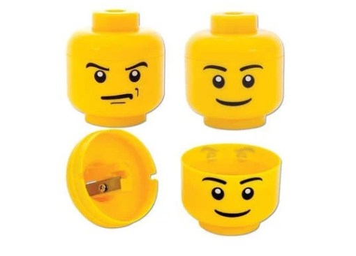 LEGO Head Pencil Sharpener