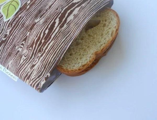 Woodgrain Sandwich Bags