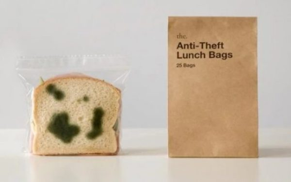 Anti-Theft Moldy Sandwich Bags