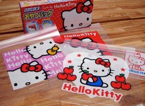 Hello Kitty Printed Sandwich Bags