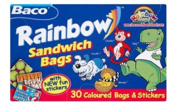 Rainbow Sandwich Bags