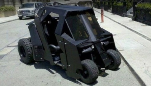 Batmobile Golf Cart