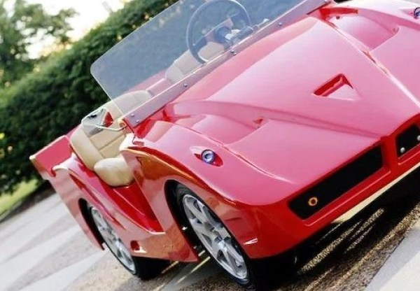 The Ferrari Inspired Golf Cart