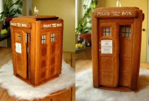 Gingerbread TARDIS