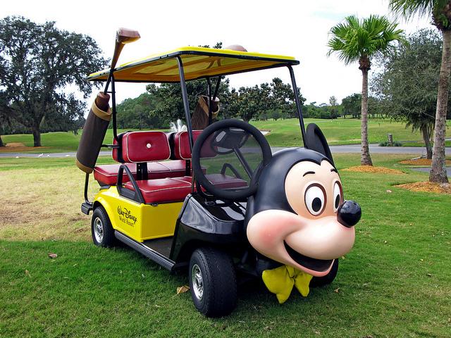 Top 10 Strange And Unusual Golf Carts