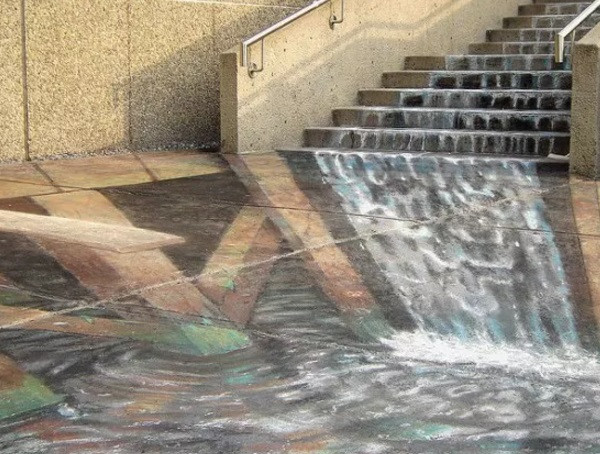 London, UK - Artist: Julian Beever