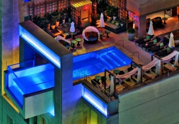 Drinks and Splashes Swimming Pool