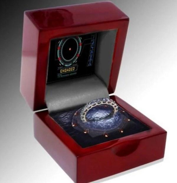 Stargate Engagement Ring Box