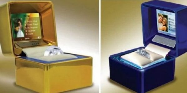 Multimedia LCD Digital Jewellery Ring Box