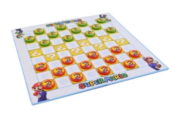 Super Mario Checkers Set